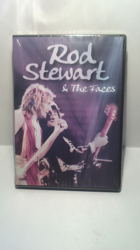 dvd rod stewart & the faces - dvd original
