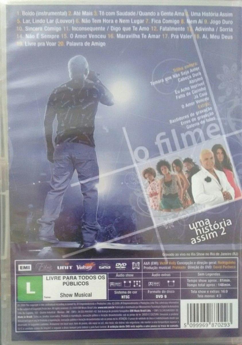 DO BAIXAR ASSIM O RODRIGUINHO DVD HISTORIA UMA 2
