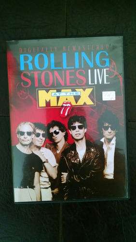 dvd rolling stones. at the max. nuevo