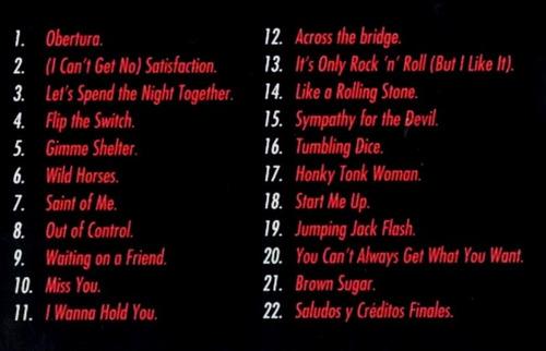 dvd rolling stones bridges to babylon tour entrega inmediata