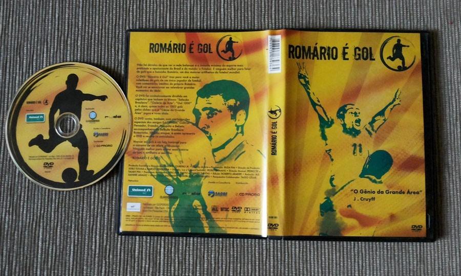 dvd romario e gol