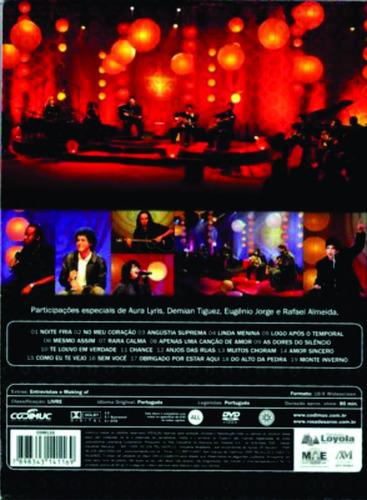dvd rosa de saron acústico e ao vivo original