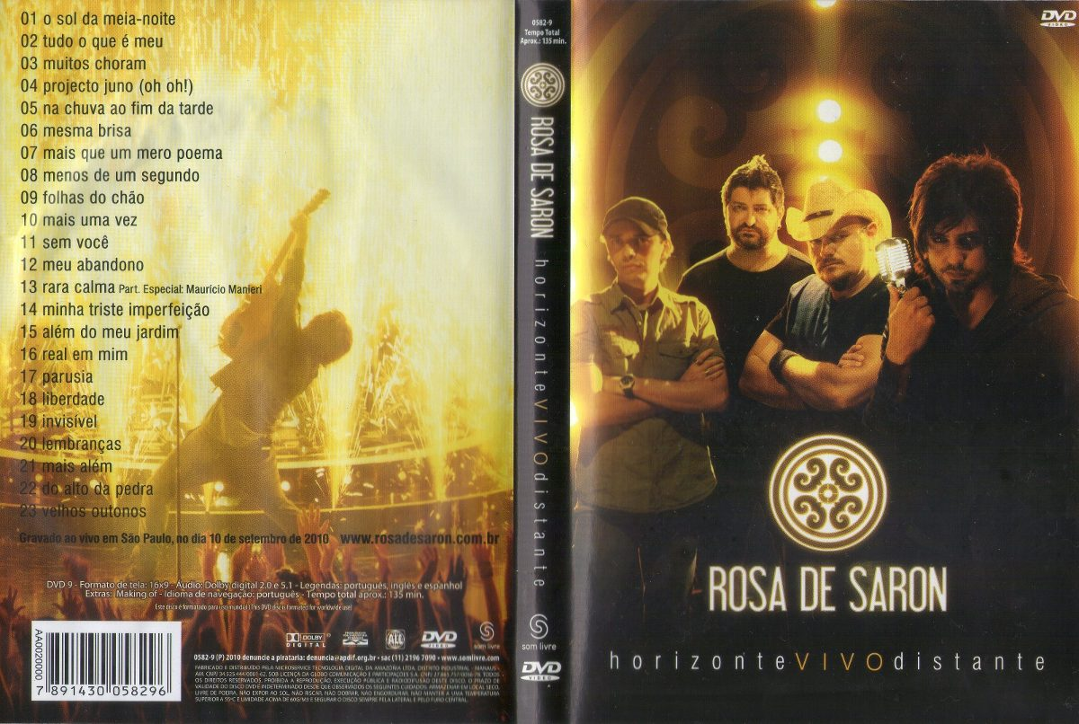 ROSAS BAIXAR SARON DVD 2010 DE