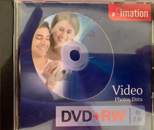 dvd+rw imation nuevo