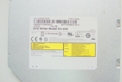 dvd rw sata slim notebook cce ultra thin u25b usado