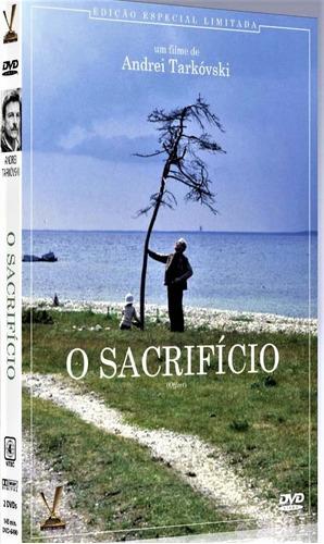 dvd sacrifício, de andrei tarkovski - digistack 2 discos +