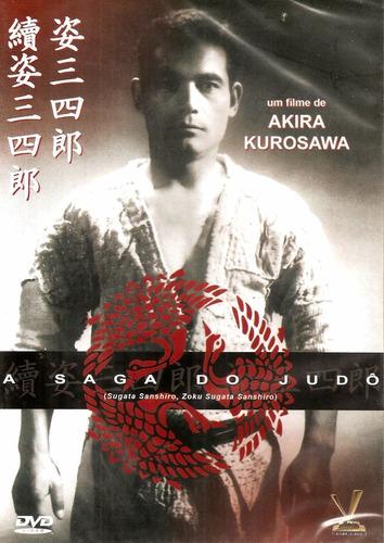 dvd saga do judo,  akira kurosawa, integral japão 1943-45 +