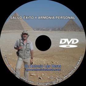 Dvd Salud Éxito Y Armonía Personal Del Dr Antonio Las Heras