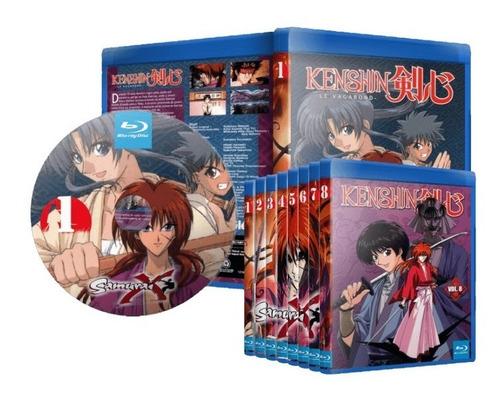 dvd samurai x - dublado e legendado