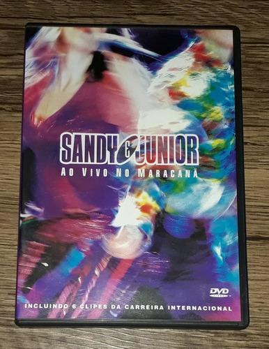 dvd sandy e junior ao vivo no maracanã