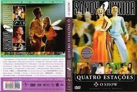 dvd - sandy e junior quatro estações o show