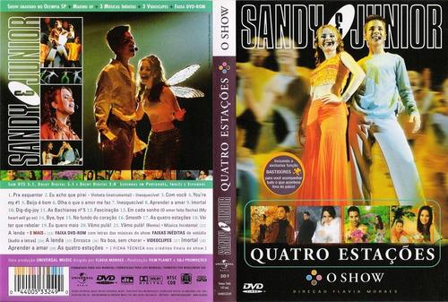 dvd sandy e junior quatro estações o show