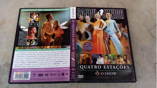 dvd sandy & junior - as 4 estações o show com encarte