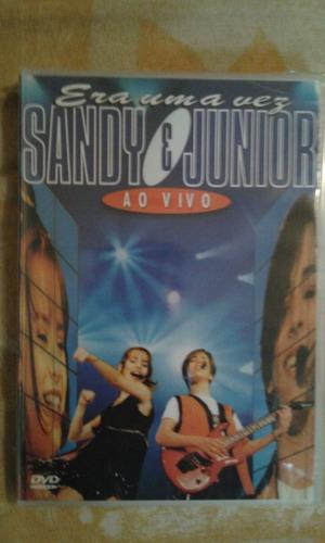 dvd. sandy & júnior. era uma vez ao vivo.