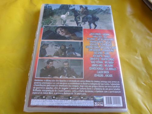 dvd sangue apache, com chuck connors / dublado-legendado