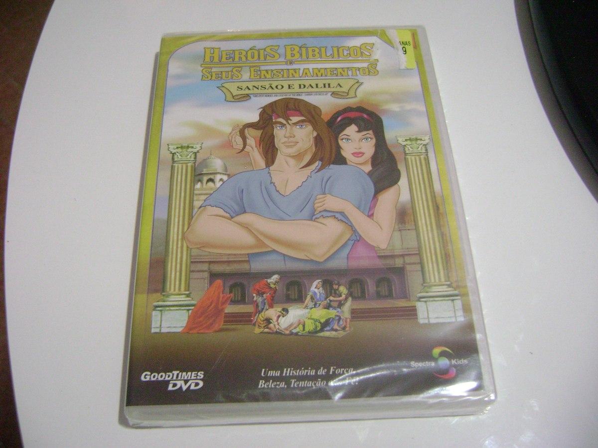 Dvd Sansao E Dalila Desenho Serie Herois Biblicos R 30 00 Em