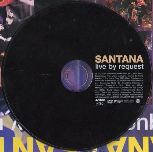 dvd santana - live by request