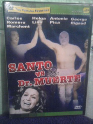 dvd santo vs el doctor muerte lucha libre mil mascaras