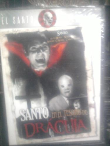 dvd santo vs el tesoro de dracula lucha libre el santo