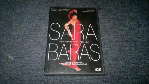 dvd sara baras mariana pineda en formato dvd
