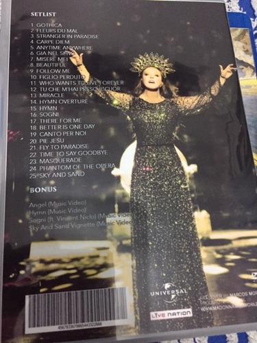 dvd sarah brightman - hymn in concert