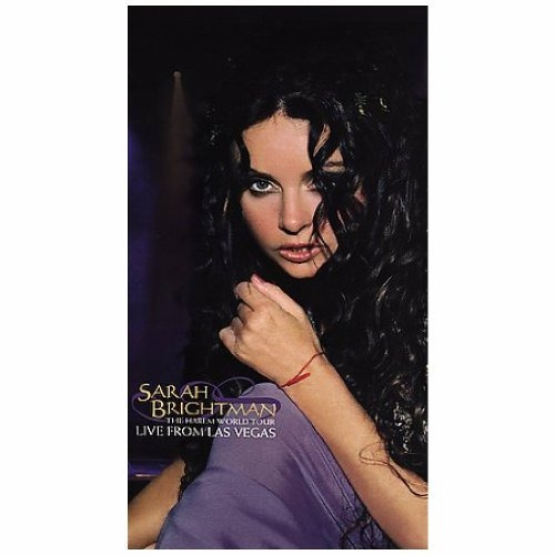 dvd : sarah brightman - live from las vegas