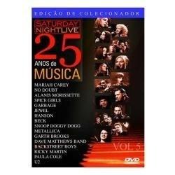 dvd saturday night live: 25 anos de música - vol. 5 dvd