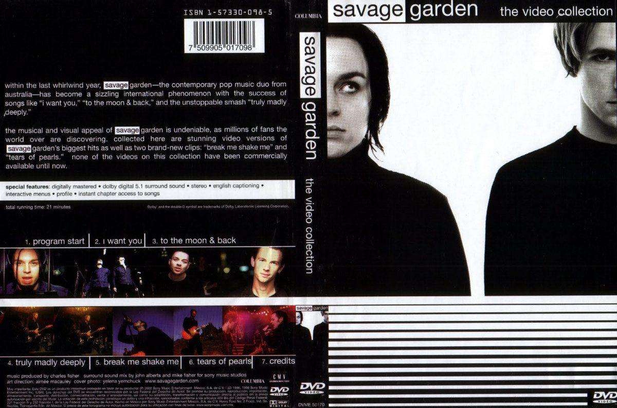 Dvd savage garden the v deo collection muito raro r 25 00 em mercado livre for Savage garden to the moon back