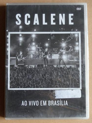 dvd scalene - ao vivo em brasília (2016) novo lacrado!!