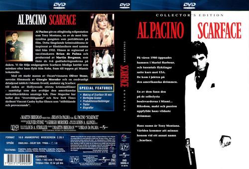 dvd scarface caracortada alpacino edicion especial 2 discos