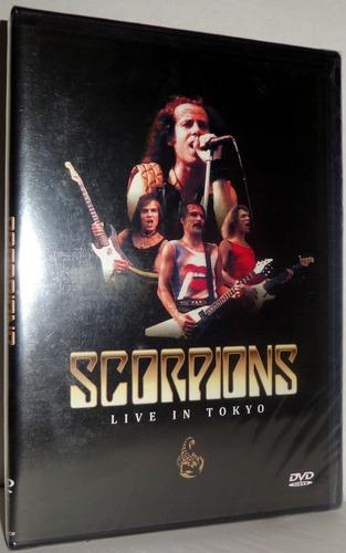 dvd scorpions - live in tokyo 1986 - novo lacrado fábrica