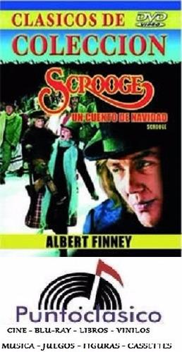dvd - scrooge, un cuento de navidad -  albert finney