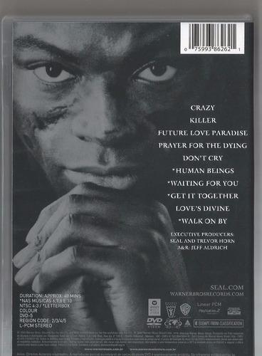 dvd seal - videos 1991-2004 'original'