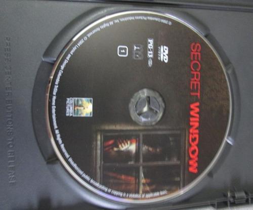 dvd secret window - johnny deep