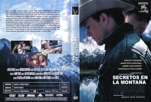 dvd secretos en la montaña brokeback mountain ledger tampico