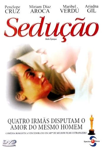 dvd - sedução - ( belle epoque ) de fernando trueba