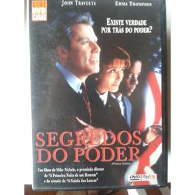 Dvd Segredos Do Poder - John Travolta
