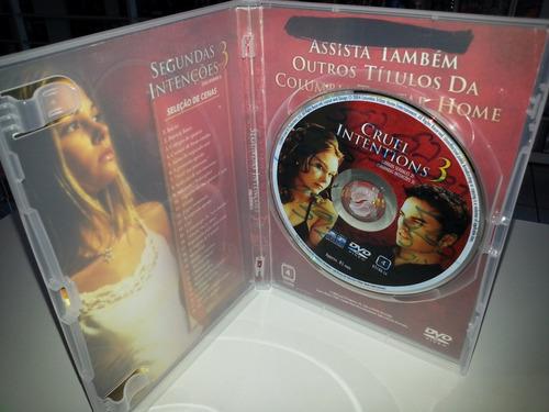 dvd segundas intenções 3 - filme original