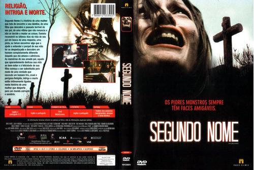 dvd segundo nome novíssimo frete r$ 9,90 brasil!