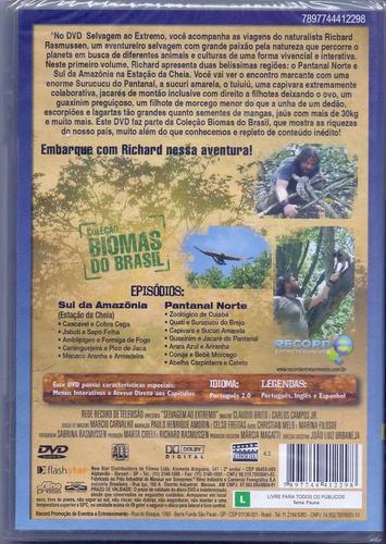 dvd selvagem ao extremo vol.1