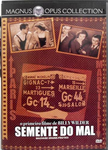 dvd semente do mal - billy wilder - impecável