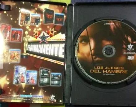 dvd seminuevo los juegos del hambre - hunger games 1