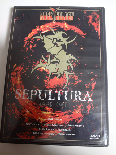 dvd sepultura hard core