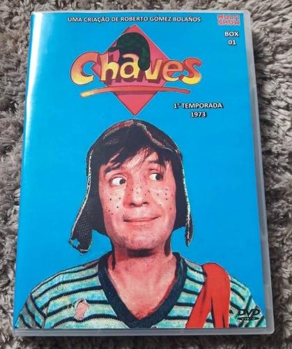 dvd seriado chaves - 1° temporada ano 1973 multishow
