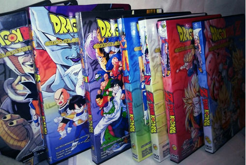 dvd serie  dragon ball z