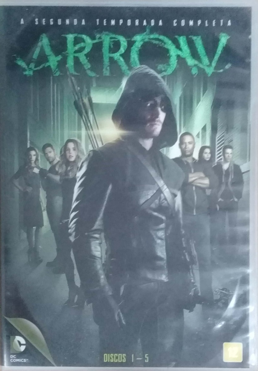 Dvd Series - Arrow 2 Temporada - Originais
