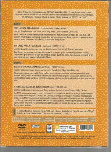 dvd sessao anos 80 volume 2 - opc - bonellihq l19
