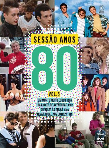dvd sessao anos 80 volume 5 - opc - bonellihq r20