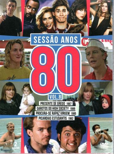 dvd sessao anos 80 volume 8 - opc - bonellihq m20