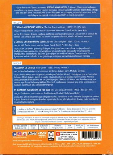 dvd sessao anos 80 volume 9 c/cards - opc - bonellihq o20